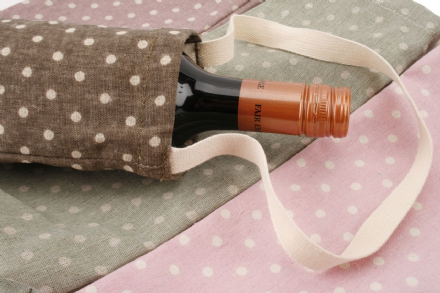 25% off Dusky Polka Dot Bottle Bags